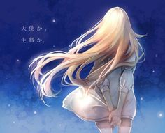 Find images and videos about gif and satsuriku no tenshi on We Heart It - the app to get lost in what you love. Manga Angel, All Anime, Anime Art, Anime Girls, Miyazono Kaori, Pixiv Fantasia, Your Lie In April, Satsuriku No Tenshi, Angels