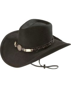 44459022aae Bullhide Women s Skynard Shapeable Felt Cowgirl Hat