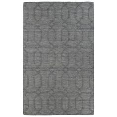 Trends Grey Pop Wool Rug (2' x 3') | Overstock.com Shopping - The Best Deals on Accent Rugs