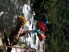 Entrada al Pailon del Diablo en Baños - Ecuador