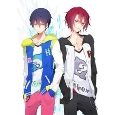 zerochan ❤ liked on Polyvore featuring free, anime, characters and free iwatobi swim club