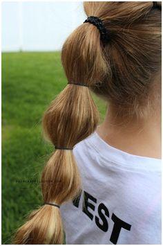 Easy Bun Hairstyles, Heatless Hairstyles, Headband Hairstyles, Girl Hairstyles, Toddler Hairstyles, Little Girls Natural Hairstyles, Cute Hairstyles For Medium Hair, Medium Hair Styles, Curly Hair Tips