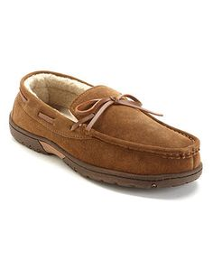 hubby wants these Rockport Slippers, Lined Moccasins - Mens Shoes - Macy's