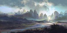 River Mountain by ~FerdinandLadera on deviantART