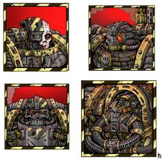 Sufferst,Chaos Space Marine,Chaos (Wh 40000),Warhammer 40000,warhammer40000, warhammer40k, warhammer 40k, ваха, сорокотысячник,фэндомы,CSM Terminators,Iron Warriors,Undivided