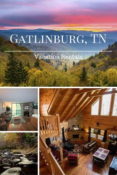 Gatlinburg vacation rental homes, condos and cabins in the Great Smoky Mountains. Plan your Tennessee vacation and see why Gatlinburg and Pigeon Forge are two hot spots! #Tennessee #Gatlinburg #vacation #rental
