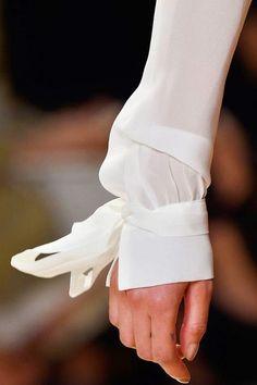 Bow-tied cuff, via Rhonda's Creative Life