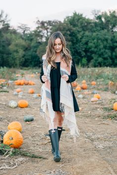 it's all good: what to wear to a Pumpkin Patch ft Tobi Hunter Boots Ann Taylor Loft