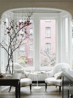 Bay Window Decorating Ideas Jenna Lyons House Styles