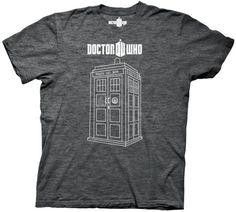 "Doctor Who ""Linear Tardis"" Shirt"