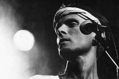 #Cazuza durante show no Palace, em São Paulo, em 1988. O cantor morreu na manhã de 7 de julho de 1990, há exatos 25 anos. Foto Masao Goto Filho/Folhapress.