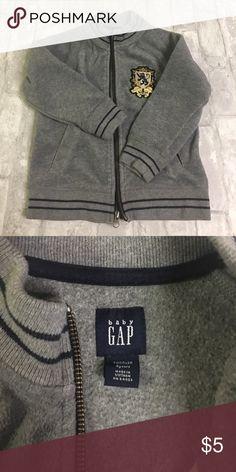 Gap - toddler boy zip up Size 4T boys grey fleece zip up. Excellent condition. GAP Shirts & Tops Sweatshirts & Hoodies