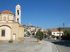 The dear little church in Psematismenos village, just below Flora's House.