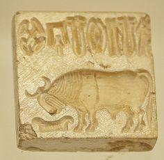 Seal -13, Harappan Civilization, C- 2700-2000 BC   Flickr - Photo Sharing!
