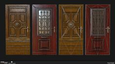 Dying Light - Doors, Pawel Dudek on ArtStation at https://www.artstation.com/artwork/dying-light-doors