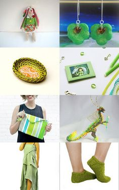 GREEN by decoratore on Etsy--Pinned+with+TreasuryPin.com