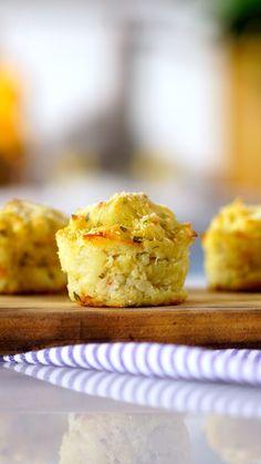Receita de bolinho de batata assado super fofinho e gostoso para você fazer em casa!