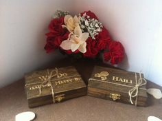 Bridesmaid Gift  Rustic Ring Box Lined with by TheSmilinBride, $18.00