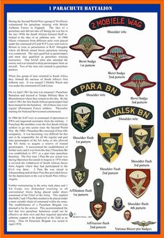 Airborne Ranger, Parachute Regiment, Service Medals, School Of Engineering, Military Training, Military Insignia, Defence Force, Paratrooper, Badges