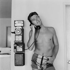 A Young Clint Eastwood (1956)