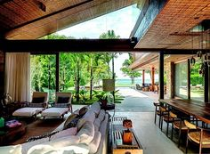 The best architecture buildings and most amazing architecture projects, architecture, architect projects, celebrate design, design inspirations Future House, Interior Architecture, Interior Design, Amazing Architecture, Dream Beach Houses, Mid Century Modern Decor, Tropical Houses, California Homes, Mid Century House