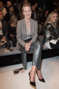 Pin for Later: Die Stars besiedeln Berlin während der Fashion Week Bettina Wulff