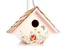 Wren Hanging Birdhouse, Pastel Bouquet on OneKingsLane.com