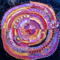 Pink & Orange recycled circles | Flickr - Photo Sharing!