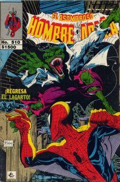 Cover for El Asombroso Hombre Araña (Novedades, 1980 series) #510