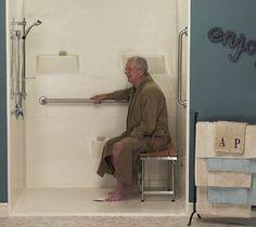 Walk In Shower Ideas On Pinterest Walk In Shower