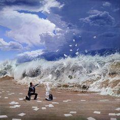 4 Peintures Hyper Realiste Surealiste Joel Rea MaxiTendance com Peintures Surréalistes par Joel Rea : Un Realisme Epoustoufflant