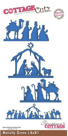 Cottage Cutz - Die - Nativity Scene: