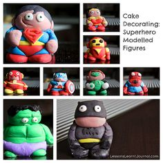 What a fun cake decoration! These are funny looking but I'm sure they are better than anything I could do