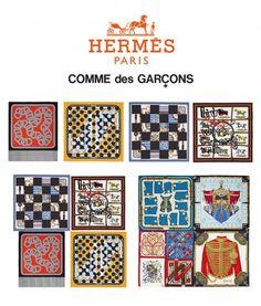 Hermès teams up with Rei Kawakubo from Comme des Garcons Foley Sound, Rei Kawakubo, Hermes Paris, Comme Des Garcons, Michelle Obama, Holiday Decor, Uni, Fashion Women, Design