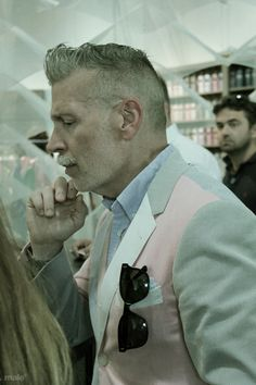Mr. Nick Wooster untitled by male ® | 2012 Mr Nick Wooster @ PITTI IMMAGINE UOMO 82 | Florence, It. more @ www.flickr.com/malefi