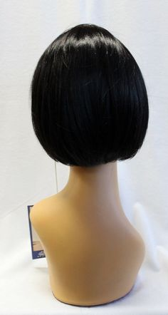 Becky, Classic Bob Style Wig, Chin Length, Bangs, Flapper, Cosplay, Daily Wear, From Sepia
