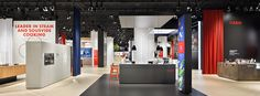 AEG invites IFA visitors to a culinary journey of taste Brand Architecture, Exhibition Stand Design, Sous Vide, Showroom, Projects, Container, Image, Log Projects, Blue Prints