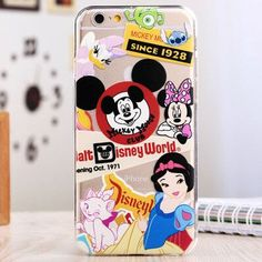 """New Hot Sale Catoon Lovely Image Light Soft Back Cover Phone Case For Iphone 6 6S 4.7"""" YC383"""