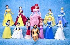 Disney Princess 12 PVC Figure Plastic Toy Cake Topper Lot Belle Cinderella Ariel | Toys & Hobbies, TV, Movie & Character Toys, Disney | eBay!