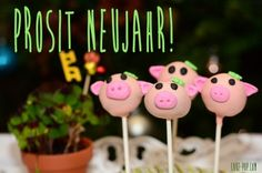 Schweinchen Cakepops