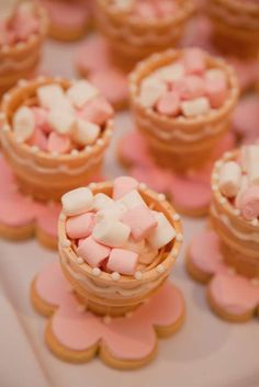 Alice in Wonderland 1st Birthday desserts (edible teacups) Eva's 7th Birthday | CatchMyParty.com