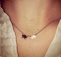 Space Invader Pendent Gold - You can now have the little fellars around you 24/7 and not just on your computer screen with this cute mini space invader gold necklace. Also comes in silver $33