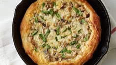 Wild Mushroom Skillet Pizza