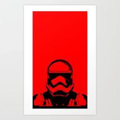 Trooper  Art Print by Rabassa - $22.99