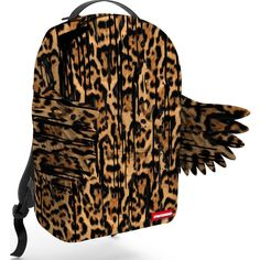 Sprayground Leopard Drip Wings Backpack | Leopard