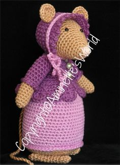 Just made with love by Antoinette: Mijn Patronen Crochet Mouse, Love Crochet, Crochet For Kids, Crochet Hats, Crocheted Toys, Bible Verses For Kids, Super Cute Animals, Knitted Animals, Christmas Knitting