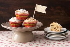 Marzipanstollen-Muffins | Kochrezept