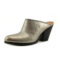 Nine West Women's Hannah Mule,Silver Metallic,7 M US