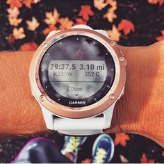 The Garmin Fenix3 Sapphire edition comes in rose gold ladies!