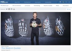 Adidas 2014 World Cup Battle Pack Boot Collection. The new Adidas 2014 World Cup Boots feature a streamlined and eye-catching design created with unique black / white upper patterns. David Beckham Photos, David Beckham Style, World Cup 2014, Fifa World Cup, David Beckham Adidas, Futsal Shoes, Live Tv Show, Adidas Boots, World Cup Final